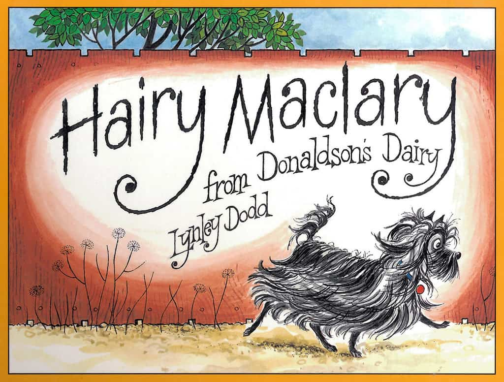 Hairy Maclary from Donaldsons Dairy book