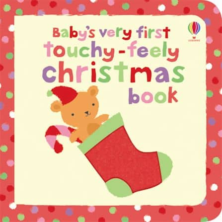 Babys Very First Touchy Feely Christmas book