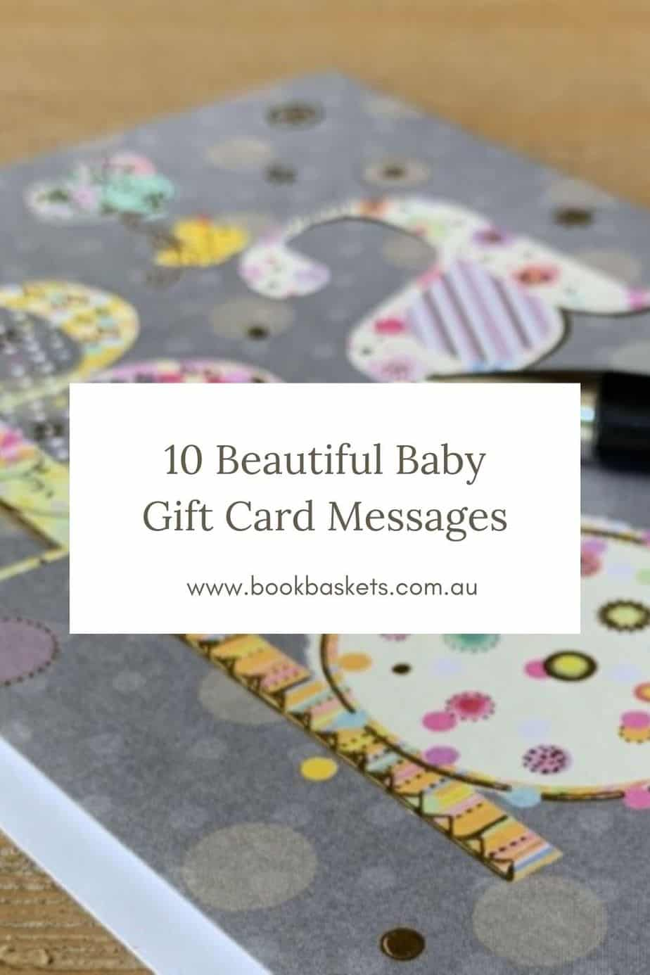 baby gift card messages