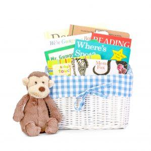 animal friends book gift basket