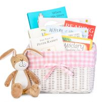 babys first library book gift basket
