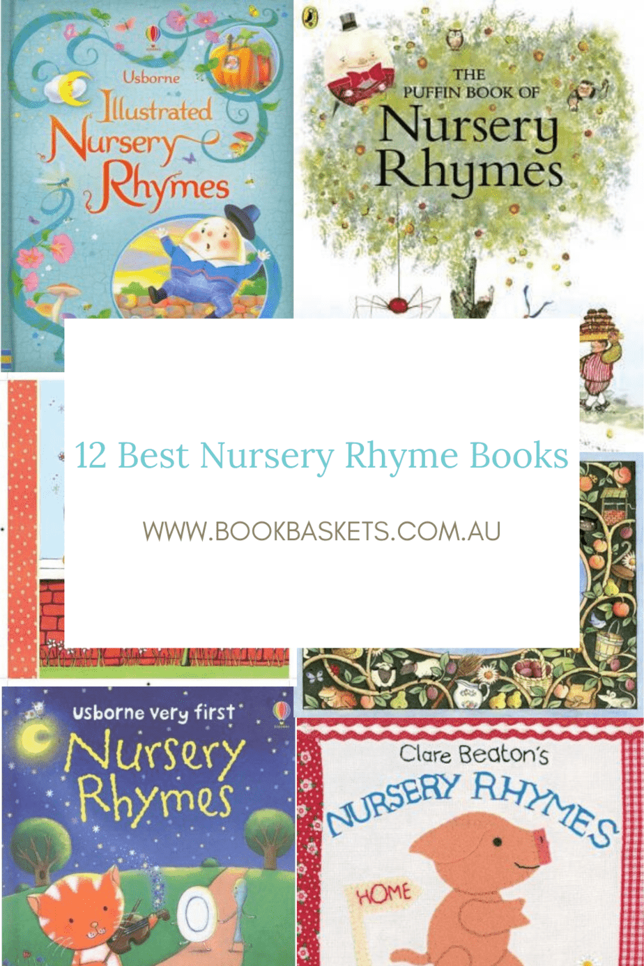 12 best nursery rhyme books for kids