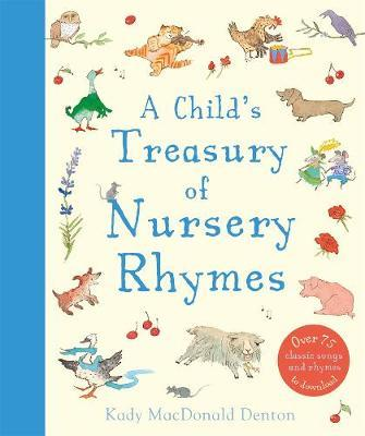 a childs treasury of nursery rhymes