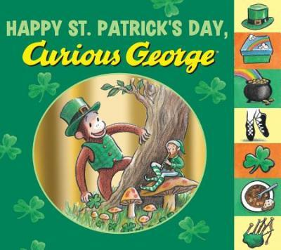 happy st patricks day curious george