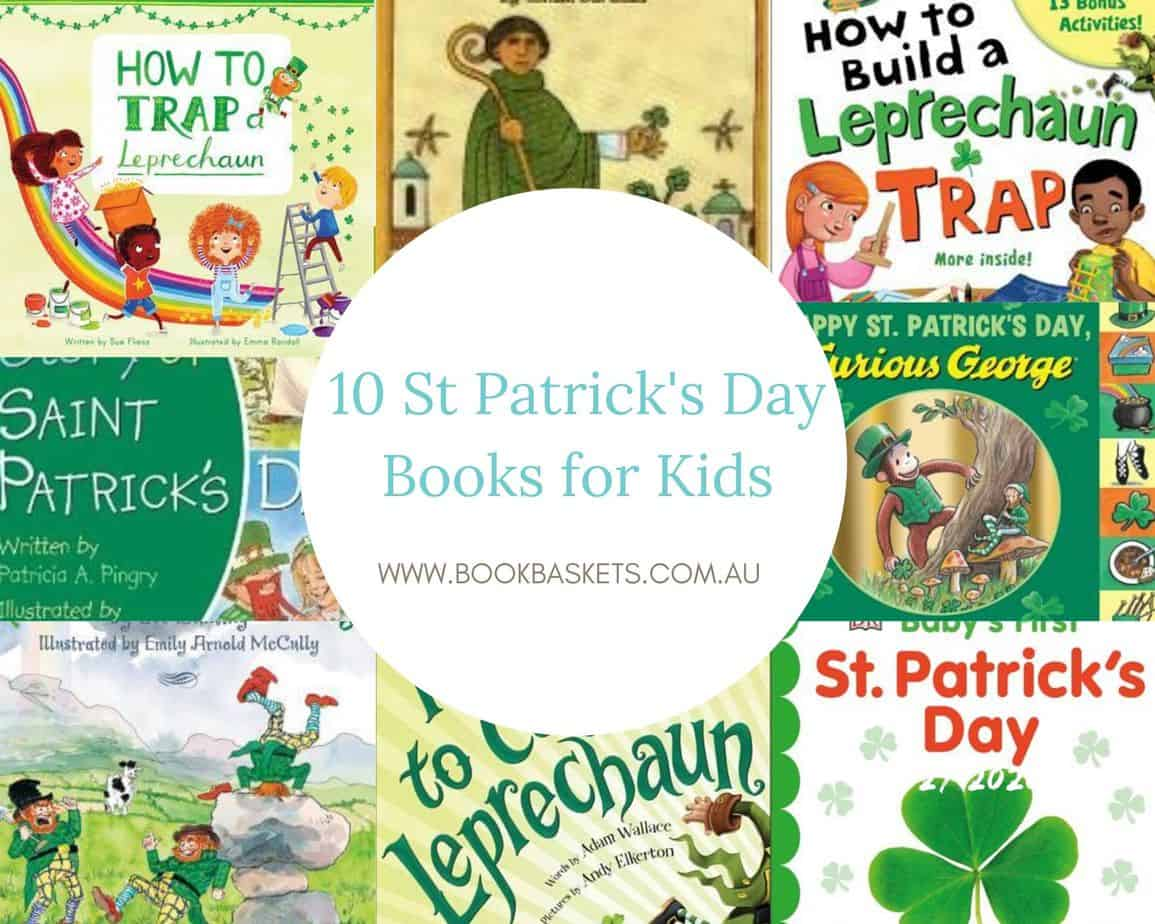 st patricks day books for kids