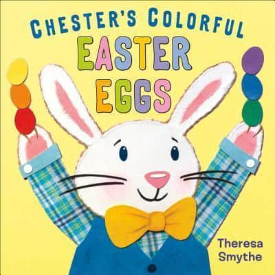 chesters colourful easter eggs, easter books for children