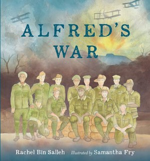 alfreds war, anzac day books