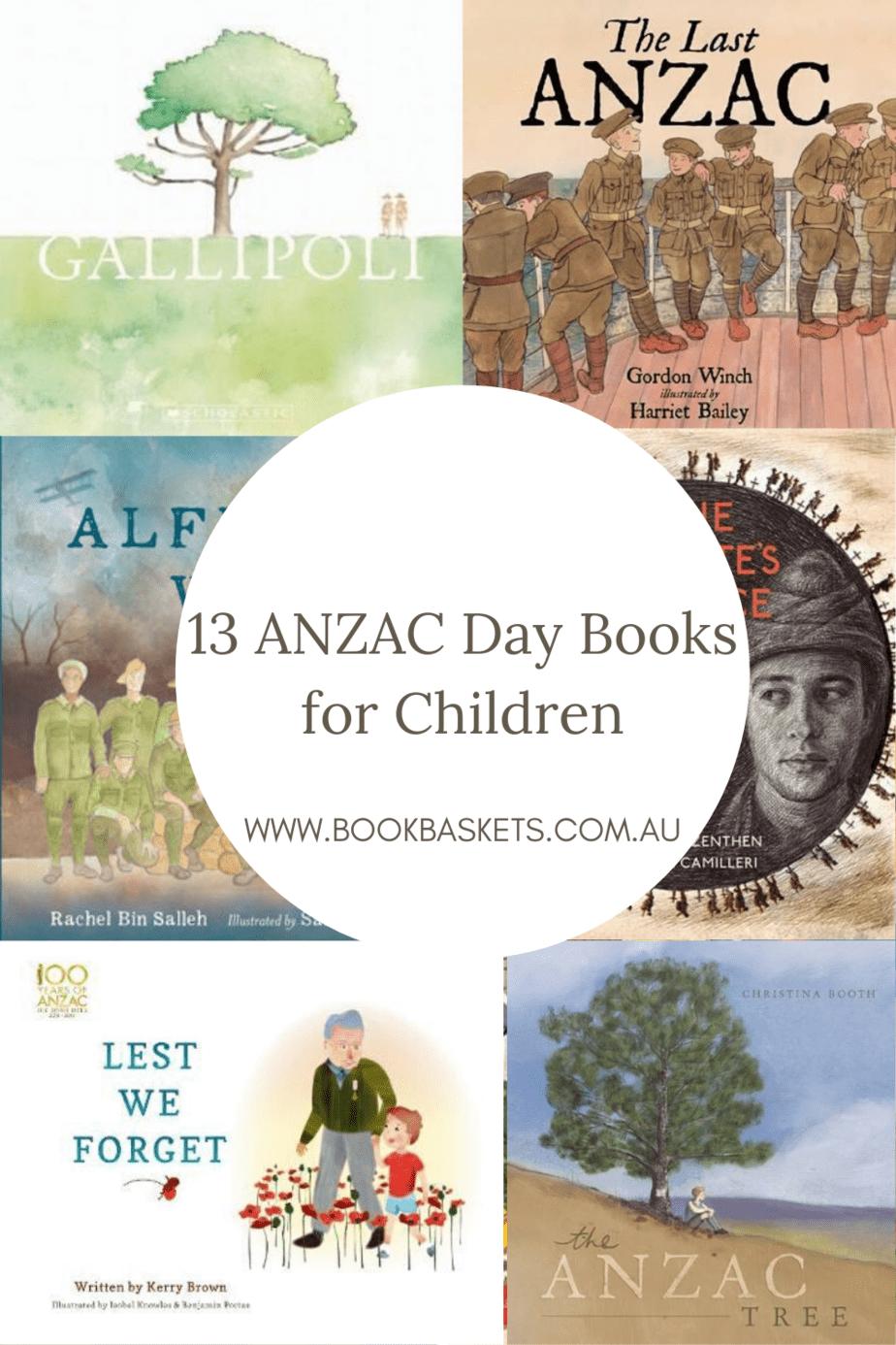 anzac day books, anzac books