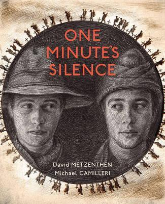 one minutes silence, anzac day books