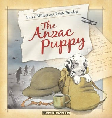 the anzac puppy, anzac day books