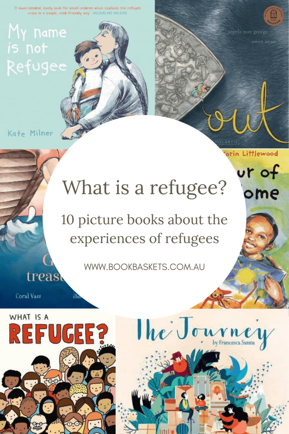 10 picture books about the experiences of refugees